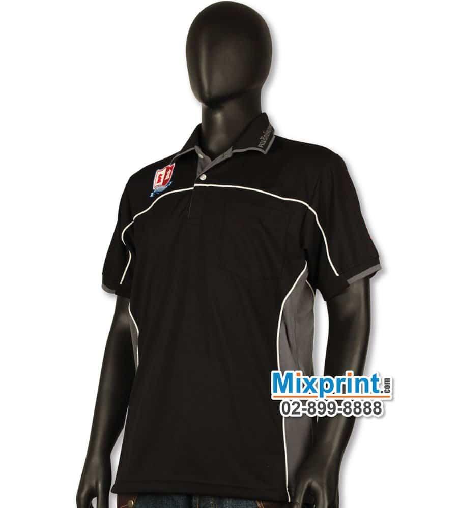 เสื้อโปโลสั่งตัด M-015