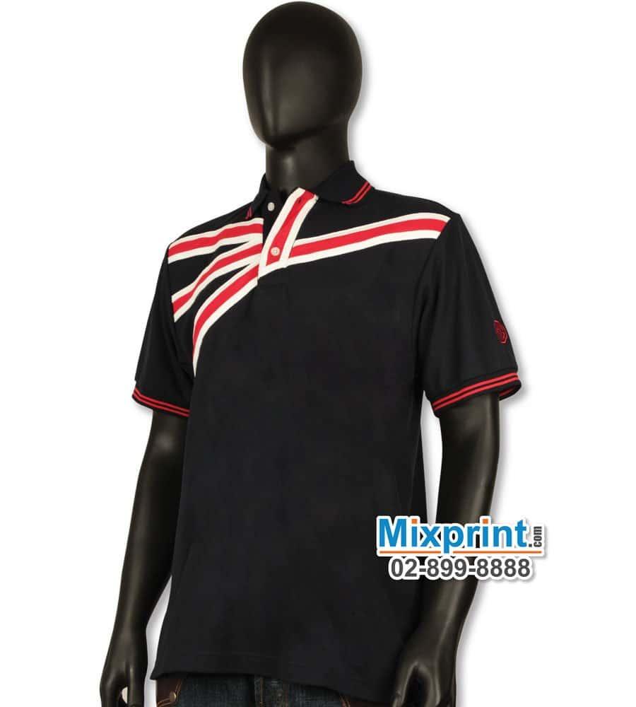 เสื้อโปโลสั่งตัด M-019