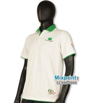 เสื้อโปโลสั่งตัด M-022