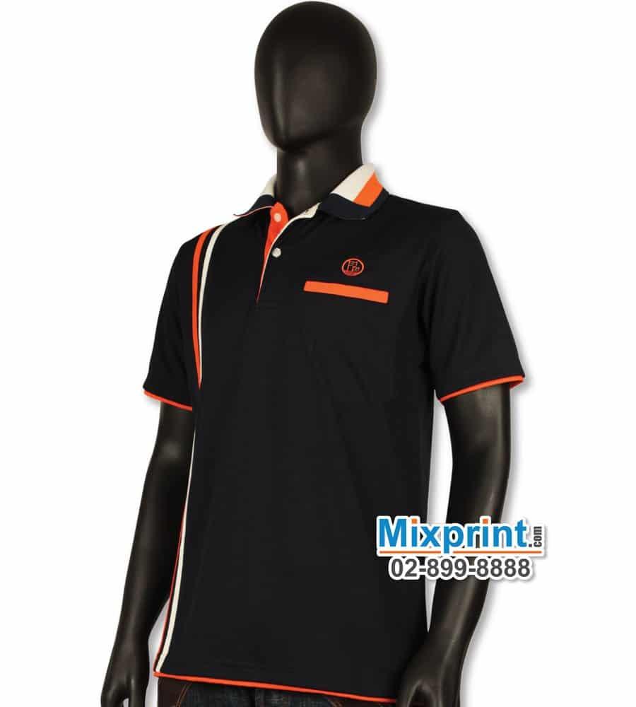 เสื้อโปโลสั่งตัด M-025