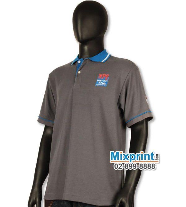 เสื้อโปโลสั่งตัด M-027
