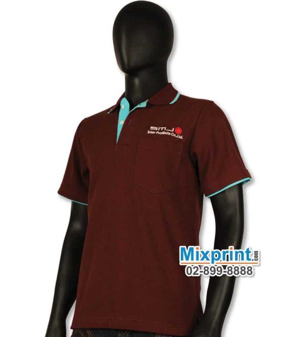 เสื้อโปโลสั่งตัด M-031