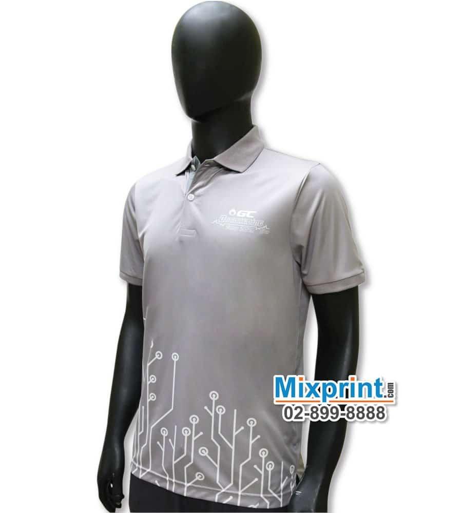 เสื้อโปโลสั่งตัด M-058