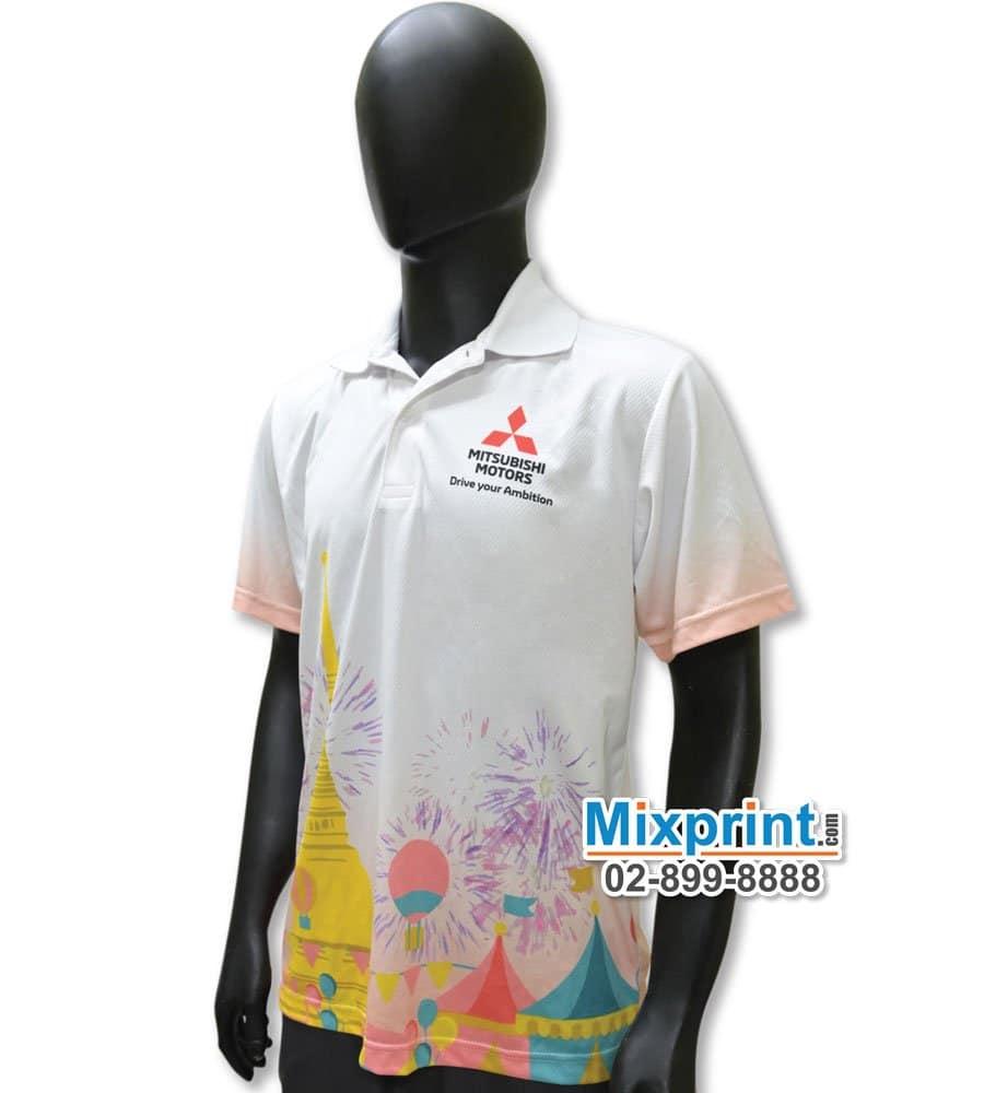 เสื้อโปโลสั่งตัด M-060