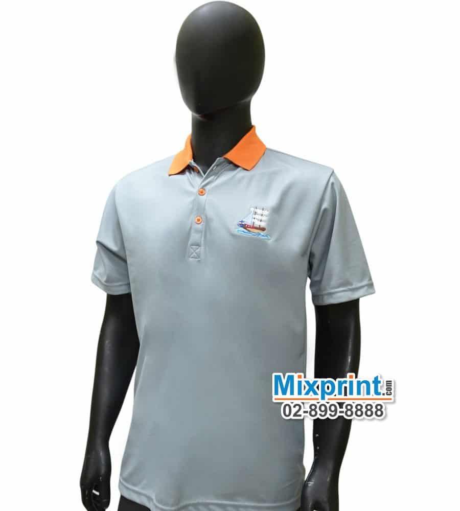 เสื้อโปโลสั่งตัด M-063